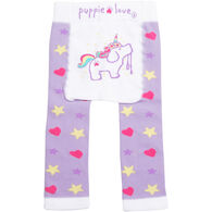 Puppie Love Infant Unicorn Legging