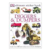 Diggers And Dumpers Ultimate Sticker Book By DK Publishing