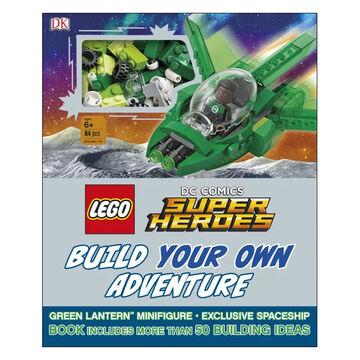 DK Lego DC Comics Super Heroes: Build Your Own Adventure by DK & Daniel Lipkowitz