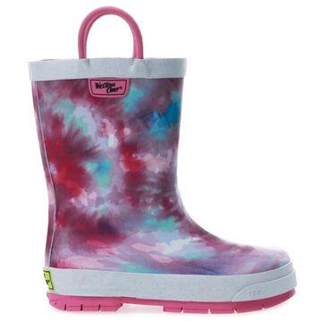 Western Chief Girls Tie Dye Rain Boot