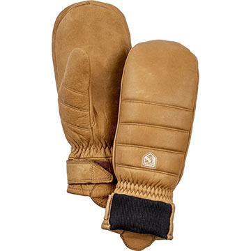 Hestra Glove Mens Alpine Leather Primaloft Mitt