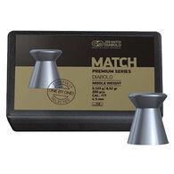 JSB Match Diabolo Match Premium Series Middle Weight 177 Cal. 8.02 Grain Air Gun Pellet (200)