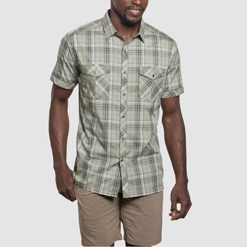 Kuhl Mens Konquer Short-Sleeve Shirt