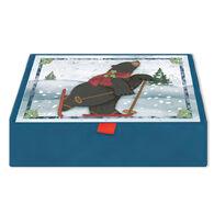LPG Greetings Bearly Fun w/Keepsake Box Christmas Cards