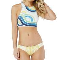 Carve Designs Women's Sanitas Reversible Bikini Bottom