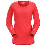Arc'teryx Women's Motus Crew Neck Long-Sleeve Shirt