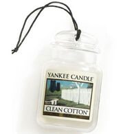 Yankee Candle Car Jar Ultimate - Clean Cotton