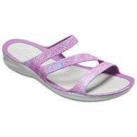 Crocs Women's Swiftwater Graphite Sandal
