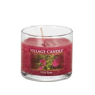 Village Candle Mini Glass Candle - Wild Rose
