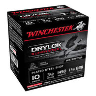 "Winchester DryLok Super Steel 10 GA 3-1/2"" 1-3/8 oz. BBB Shotshell Ammo (25)"