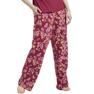 Life is Good Women's Sleepy Flower Toss Snuggle Up Sleep Pant