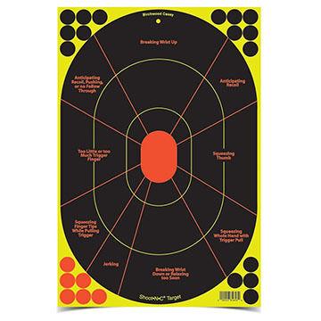 "Birchwood Casey Shoot-N-C 12"" x 18"" Handgun Trainer Paper Target - 5 Pk."