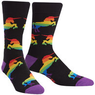 Sock It To Me Men's Pride & Fabulousness Crew Sock