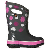Bogs Girls' Classic Sketched Dots Waterproof Insulated Winter Boot