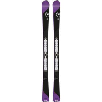 Rossignol Womens Temptation 75 Xpress System Alpine Ski w/ Binding - 17/18 Model