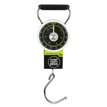 Travelon Stop and Lock Luggage Scale w/ Tape Measure