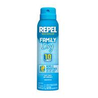 Repel Family Dry Insect Repellent Aerosol Spray - 4 oz.