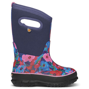 Bogs Girls Classic Pansies Insulated Boot
