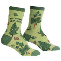 Sock It To Me Women's May the Forest Be With You Crew Sock