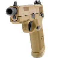 "FN FNX-45 Tactical FDE 45 ACP 5.3"" 15-Round Pistol"