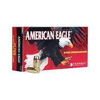 American Eagle 25 Auto (6.35mm Browning) 50 Grain FMJ Handgun Ammo (50)