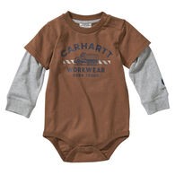 Carhartt Infant Boy's Born Tough Long-Sleeve Bodysuit Onesie