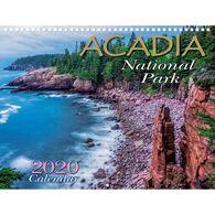 Maine Scene Acadia National Park 2020 Wall Calendar