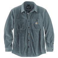 Carhartt Men's Loose Fit Heavyweight Corduroy Jersey-Lined Long-Sleeve Shirt