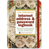 Old World Internet Address & Password Logbook by Peter Pauper Press