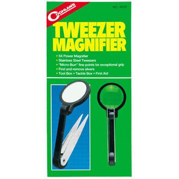 Coghlans Tweezer / Magnifier Tool