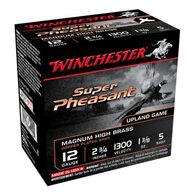 "Winchester Super-X Super Pheasant Magnum High Brass 12 GA 2-3/4"" 1-3/8 oz. #5 Shotshell Ammo (25)"