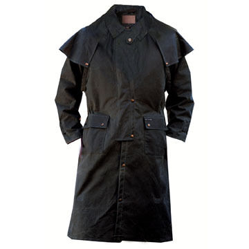 Outback Trading Mens Low Rider Duster Oilskin Coat