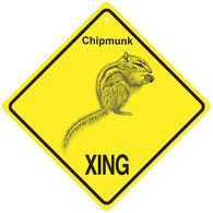KC Creations Chipmunk XING Sign