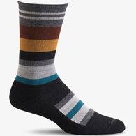 Goodhew Men's Stand Up Stripe Crew Sock