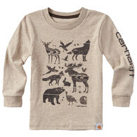 Carhartt Infant/Toddler Boys' Woodgrain Animals Long-Sleeve T-Shirt