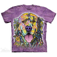 The Mountain Men's Russo Golden Retriever Short-Sleeve T-Shirt