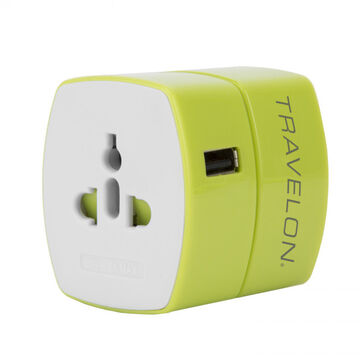 Travelon Universal Adapter w/ USB Charger