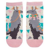 Karma Women's Llama Ankle Sock