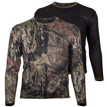 Gamehide Mens Ground Blind Reversible Long-Sleeve T-Shirt