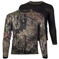 Gamehide Men's Big & Tall Ground Blind Reversible Long-Sleeve T-Shirt
