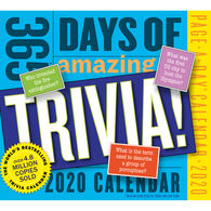 365 Days of Amazing Trivia! 2020 Page-A-Day Calendar by Workman Publishing