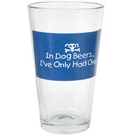 Entertain Ya Mania In Dog Beers Pub Glass