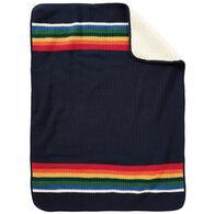 Pendleton Woolen Mills Sherpa Stroller Blanket