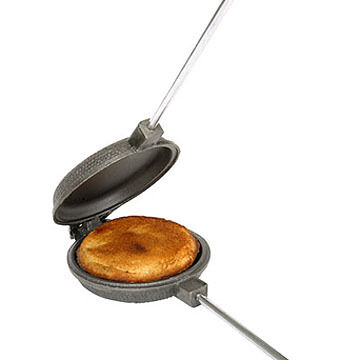 Rome Cast Iron Round Australian Style Jaffle Iron