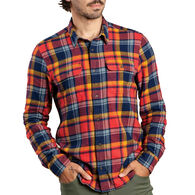 Toad&Co Men's Indigo Flannel Long-Sleeve Shirt
