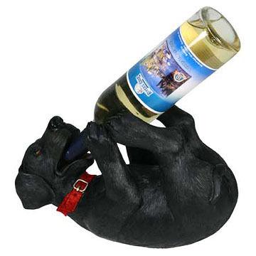 Rivers Edge Black Lab Bottle Holder