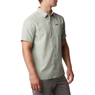 Columbia Mens Lakeside Trail Short-Sleeve Shirt
