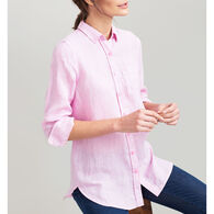 Joules Women's Jeanne Linen Long-Sleeve Shirt