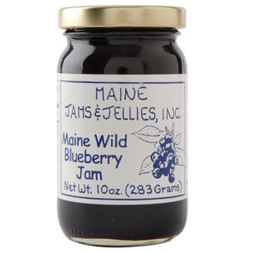 Maine Maple Wild Blueberry Jam - 10 oz.