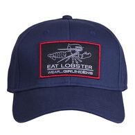 Grundens Men's Eat Lobster Wear Grundens Ball Cap